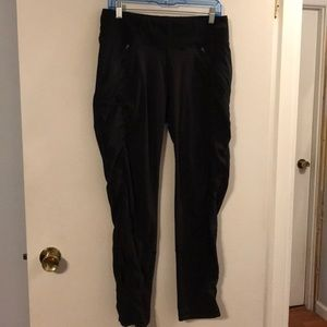 The North Face black pants.